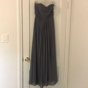 David's bridal chiffon gown/bridesmaid dress